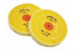 Sarı Dikişli Cila Bezi  6x60  Yellow Polishing Buff